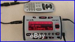 Sirius Starmate ST1 ACTIVATED Radio + Remote + antenna + car plug