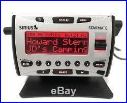 Sirius Starmate ST1 ACTIVE Radio GUARANTEED LIFETIME SUBSCRIPTION + Home Kit EX+