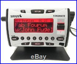 Sirius Starmate ST1 ACTIVE Radio w LIFETIME ACTIVATED SUBSCRIPTION + Home Kit XM