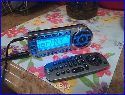Sirius Starmate ST2 (Activated, don't for how long) + Remote, Antenna, Power