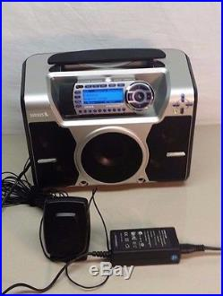 Sirius Starmate ST2-R Satellite Receiver with ST-B2 Boombox, Excellent (ACTIVATED)
