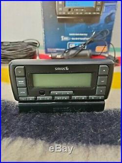 Sirius Status 6 Radio Lifetime Unit Tested Dock