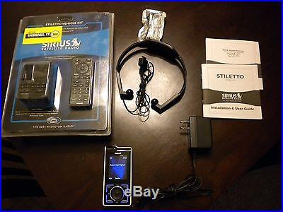 Sirius Stiletto 100 For Sirius Car & Stiletto Vehicle Kit