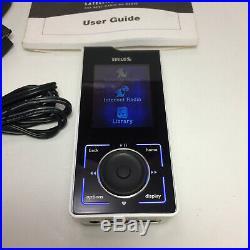 Sirius Stiletto 100 Portable Satellite Radio Receiver Activated (Needs Battery)