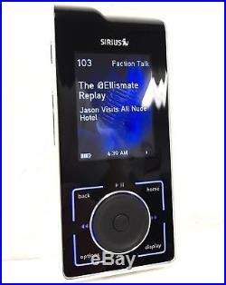 Sirius Stiletto 100 Radio SL100 with LIFETIME SUBSCRIPTION + Home Kit & Headphones