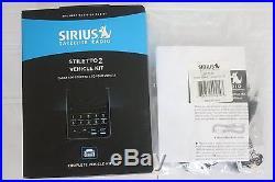Sirius Stiletto 2 Home Portable Satellite Radio Receiver + Complete Vehicle Kit