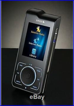 Sirius Stiletto 2 Live Portable Satellite Radio Receiver & Mp3 Player