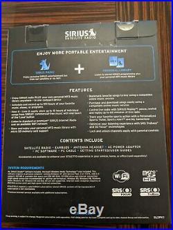 Sirius Stiletto 2 Live Portable Satellite Radio Receiver Mp3 Player With Car Kit