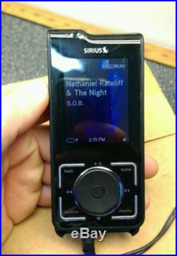 Sirius Stiletto 2 Portable Satellite Radio Receiver & Mp3 Player & Car Dock