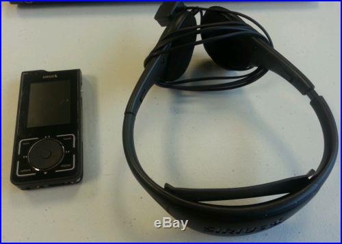 Sirius Stiletto 2 Portable Satellite Radio Receiver with Antenna Headphones