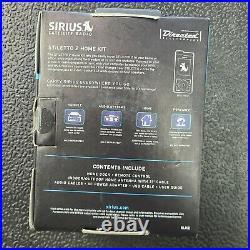 Sirius Stiletto 2 Portable Satellite Radio (SL2) Receiver Kit SL2PK1