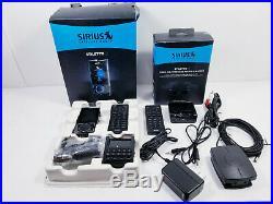 Sirius Stiletto 2 Portable Satellite Radio & Vehicle Kit + Stiletto 2 Home Kit