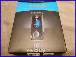 Sirius Stiletto 2 Satellite radio receiver & accessories SL2 in Box Great Cond