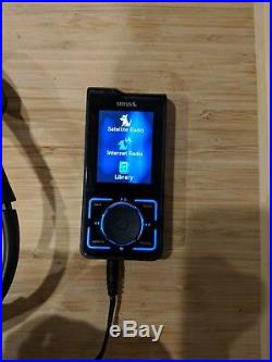 Sirius Stiletto 2 With New Battery Satellite Headphones And Charger Etc