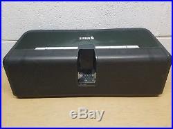 Sirius Stiletto Executive Speaker Boombox Slbb2 Sound System No Radio Tested