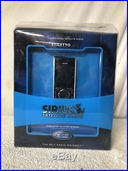 Sirius Stiletto SL100 Satellite Radio w Lifetime Subscription