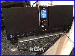 Sirius Stiletto SL100 with Executive Speaker Dock SLEX1 Currently Activated