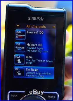 Sirius Stiletto SL2 Portable Satellite Radio Receiver with Lifetime Subscription
