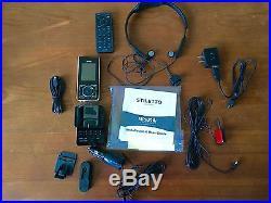 Sirius Stiletto SL-100 Radio LIFETIME SUBSCRIPTION Car Kit Headphones Receiver