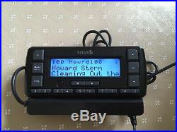 Sirius Stratus 6 SDSV6 Satellite Radio W / Vehicle Kit -Lifetime Subscription