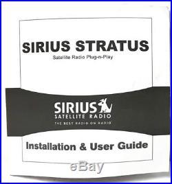 Sirius Stratus SV3 ACTIVE Satellite Radio LIFETIME SUBSCRIPTION NEW Home Kit XM