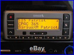 Sirius Stratus SV3 Receiver withSirius Subx2 Boombox Active Lifetime