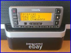 Sirius Stratus Satellite Radio w\ Speaker Dock & Car Kit LIFETIME SUBSCRIPTION