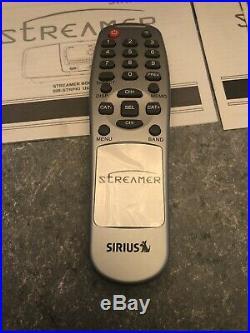 Sirius Streamer Boombox Kit SIR-STRPK1 LIFETIME Subscription Nice Shape Tested