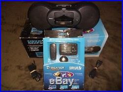 Sirius Streamer Replay Satellite Radio Kit with BOOMBOX