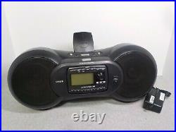 Sirius Streamer SIR-STRC1 RECEIVER & SIR-STRB1 BOOMBOX withActive Subscription