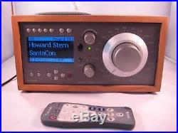 Sirius Tivoli Table Top Satellite Radio with LIFETIME subscription, remote, etc