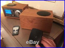 Sirius Tivoli Table Top Satellite Radio with matching STEREO Tivoli speaker