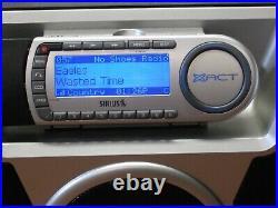 Sirius XACT XTR8 Active Subscription Radio with ST-B2R Boombox