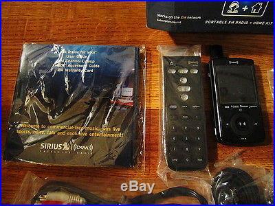 Sirius XMP3i Home AND PowerConnect Kits Sirius Portable Satellite Radio Receiver