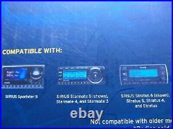 Sirius XM Boombox Speaker Dock for Sportster, Stratus Express XMP Radios