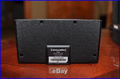 Sirius XM Edge Satellite Radio and SXABB2 Speaker Dock