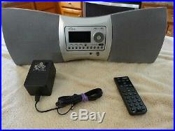 Sirius XM Lifetime Delphi SA-10000 Radio Receiver & SA-10001 Boombox Please Read