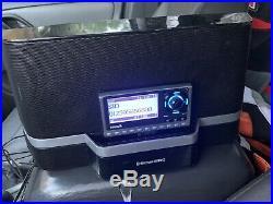 Sirius XM Lifetime With Portable Home Speaker Dock Boombox SXABB2