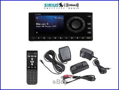 Sirius XM Onyx EZ XEZ1V Radio Receiver + Home Kit Antenna Adapter dock remote