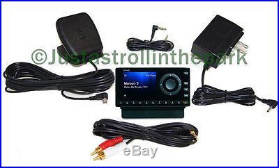 Sirius XM Onyx Radio Receiver + Complete Home Kit Antenna Adapter Cradle NEW
