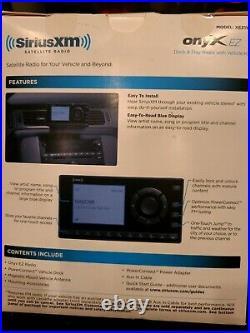 Sirius XM Portable Speaker Dock BB2 with ONYX EZ Radio. New / Never Used