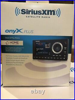 Sirius XM Portable Speaker Dock SD2 + Sirius XM OnyX Dock and play Radio