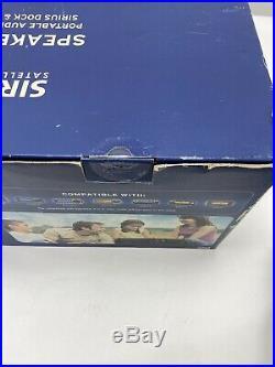 Sirius XM Portable Subx2r Satellite Radio Boombox And Stratus 4 New In Box