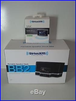 Sirius XM Radio Lynx & BB2 Portable Dock Sirius Satellite Radio