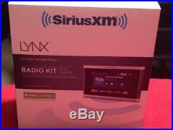 Sirius XM Radio Lynx For XM / For Sirius Portable Satellite Radio Receiver