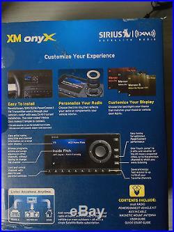Sirius XM Radio Onyx XDNX1V1 For SiriusXM Car & Home Satellite Radio Receiver
