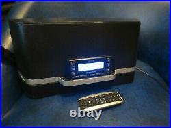 Sirius XM Radio Portable Satellite Speaker Dock with Stratus 6 Lifetime Sub