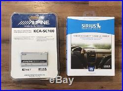 Sirius XM Radio SCC1 & Alpine KCA-SC100 Sirius Car Satellite Radio Receiver