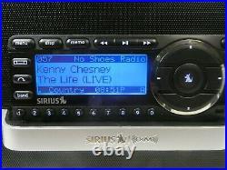 Sirius XM Radio SXABB1 Boombox Speaker with ST5 Satellite Receiver Active