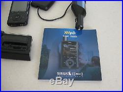 Sirius XM Radio XMP3I For XM Satellite Radio Receiver + home and vehicle kits